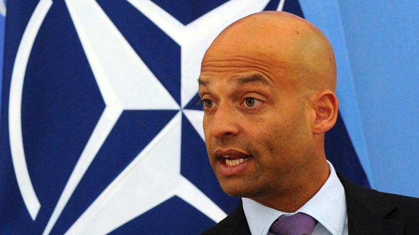 В НАТО заявили, что альянс не покинет Чёрное море