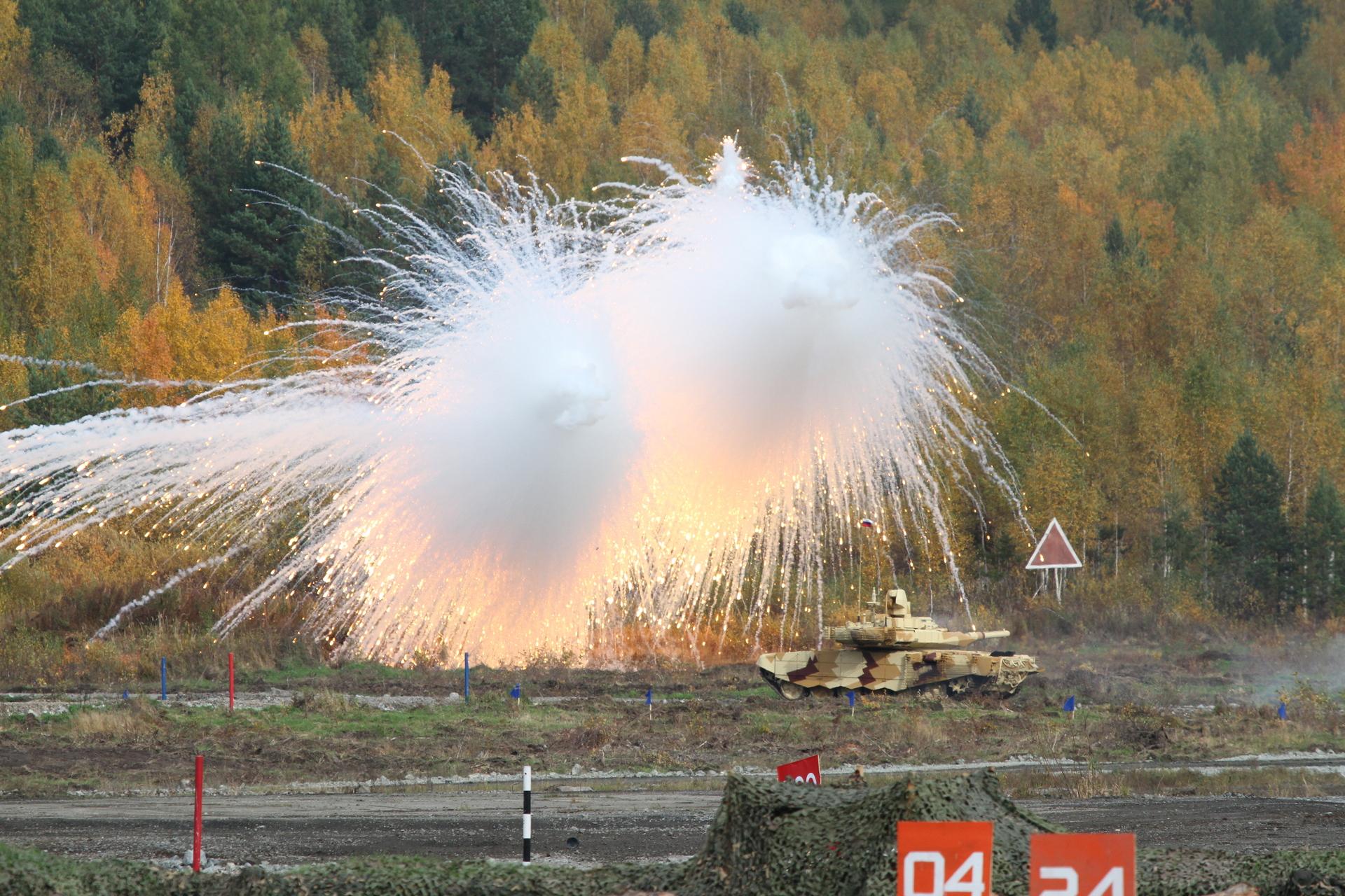 Противоракетная маскировка: как новый «ослепляющий» снаряд защитит российские танки1