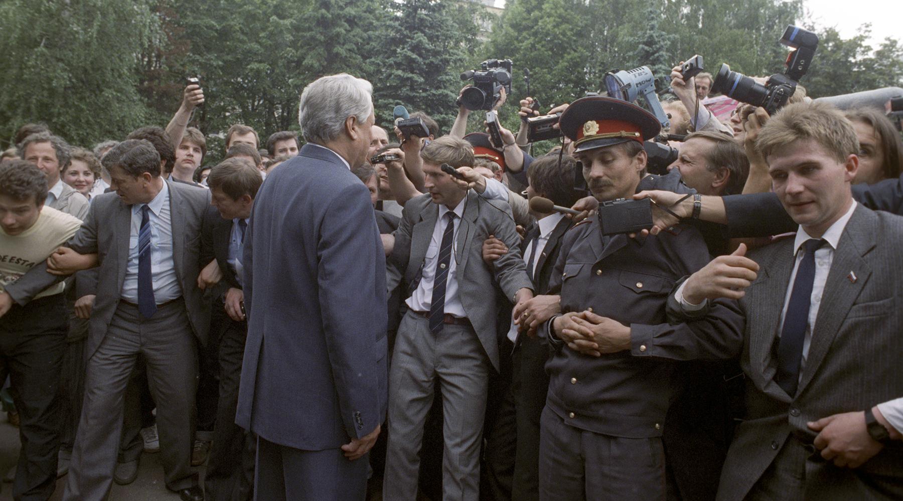 «Оценка его фигуры ещё впереди»: политики и общественные деятели — о роли Бориса Ельцина в истории современной России2