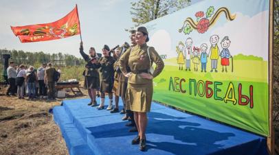 В Подмосковье оценили итоги акции Лес Победы