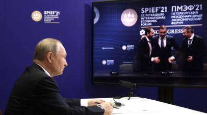 Нужно оставить в стороне политические и иные разногласия: Путин  о попытках помешать распространению вакцин