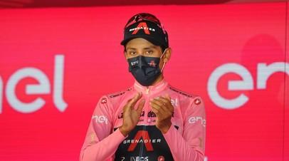 Победитель Джиро д'Италия Берналь сдал положительный тест на коронавирус