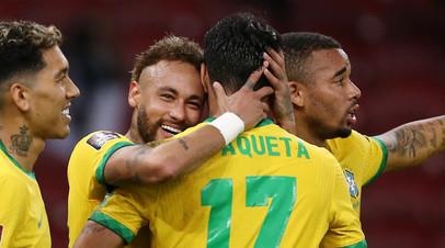 Гол Неймара помог сборной Бразилии победить Эквадор в квалификации ЧМ-2022