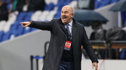 Черчесов рассказал о подготовке сборной России к матчу с Бельгией на Евро-2020