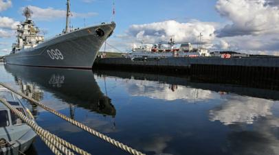 Учения Северного флота начались в Баренцевом море
