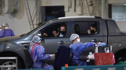 В Аргентине за сутки выявили более 22 тысяч случаев коронавируса