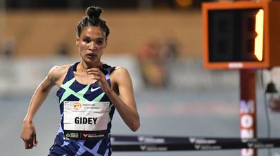 Эфиопка Гидей побила мировой рекорд в беге на 10 000 м