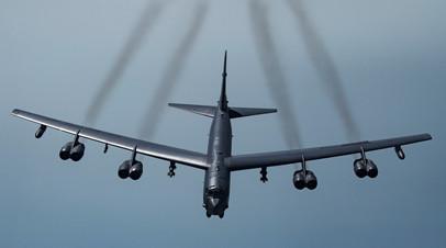 Бряцание оружием: посольство РФ назвало провокацией использование США бомбардировщика B-52 в ходе учений НАТО