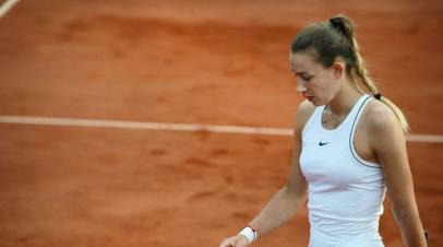 Адвокат Сизиковой рассказал о самочувствии теннисистки после задержания в Париже