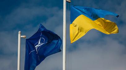 В ФРГ считают, что вопрос вступления Украины в НАТО не стоит на повестке дня