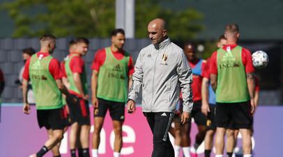 Тренер сборной Бельгии высказался о состоянии Витселя и Де Брёйне перед матчем с Россией