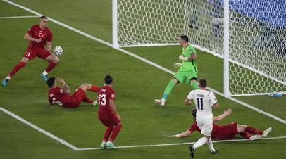 Первым голом Евро-2020 стал автогол защитника сборной Турции
