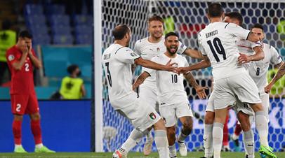 Автогол Демирала, добивание Иммобиле и дальний удар Инсинье: как Италия разгромила Турцию в матче открытия Евро-2020