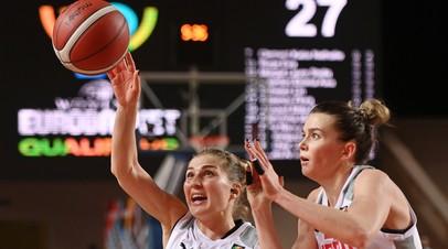 Стал известен состав женской сборной России на Евробаскет-2021