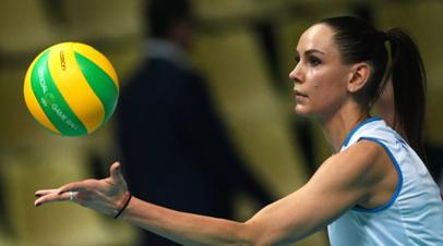 Волейболистки сборной России обыграли Канаду в Лиге наций