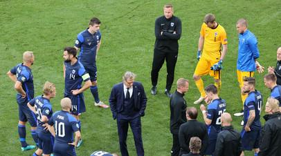 Главный тренер сборной Финляндии назвал Дзюбу главным оружием России