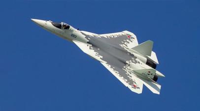 Многофункциональный самолёт пятого поколения Су-57