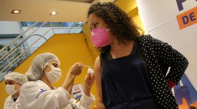 В Бразилии за сутки выявили более 95 тысяч случаев коронавируса