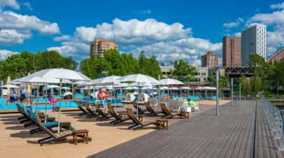 В Роспотребнадзоре назвали безопасные пляжи Москвы
