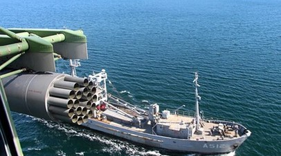 Украинские ВМС провели учения в Чёрном море