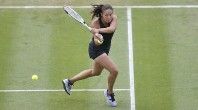 Касаткина обыграла Свёнтек и вышла в четвертьфинал турнира WTA в Истборне