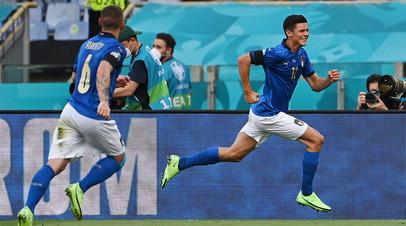 Концерт на «Уэмбли»: Италия играет с Австрией в 1/8 финала Евро-2020