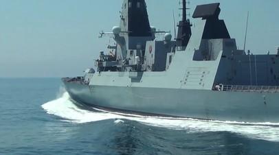 В Британии прокомментировали потерю документов об операции эсминца Defender