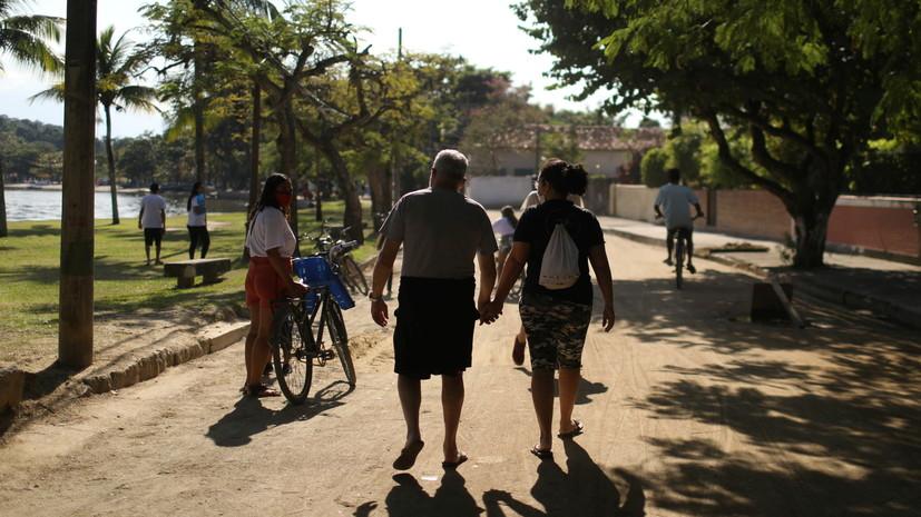 В Бразилии за сутки выявили более 43 тысяч случаев коронавируса