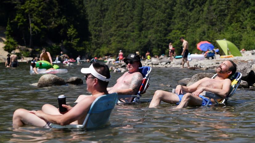 Около 500 человек могли умереть в Канаде от аномальной температуры