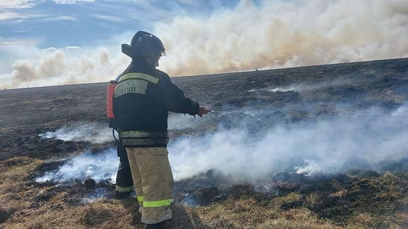 Специалисты Авиалесоохраны прибыли на Чукотку для борьбы с лесными пожарами