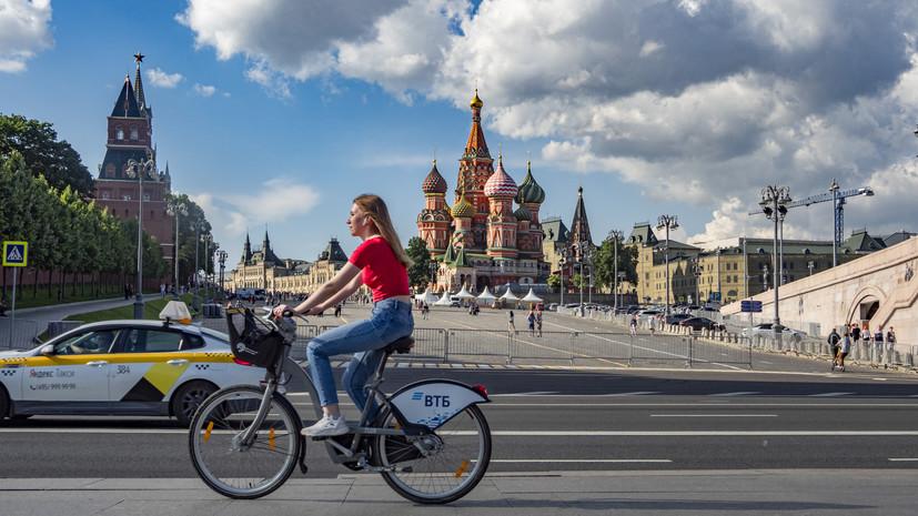 В Москве 1 июля ожидается до +22 °С