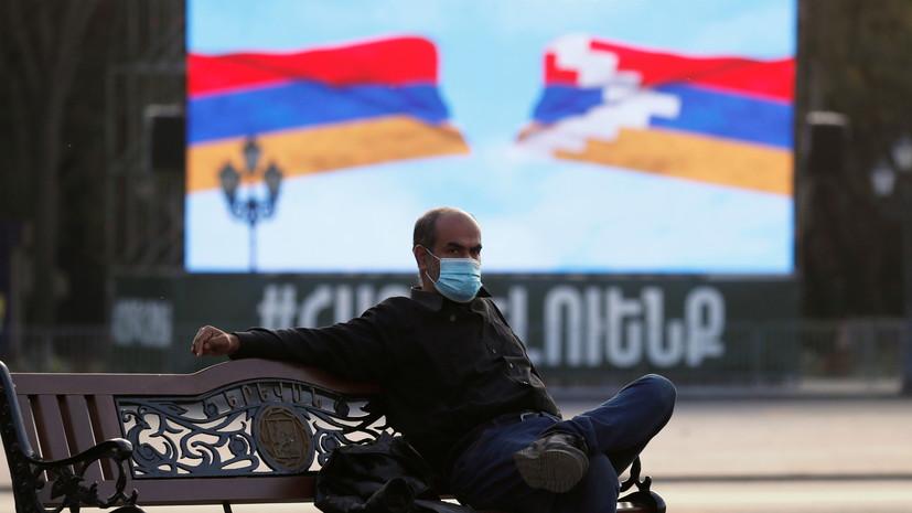 В Армении смягчили ограничения для вакцинированных от COVID-19