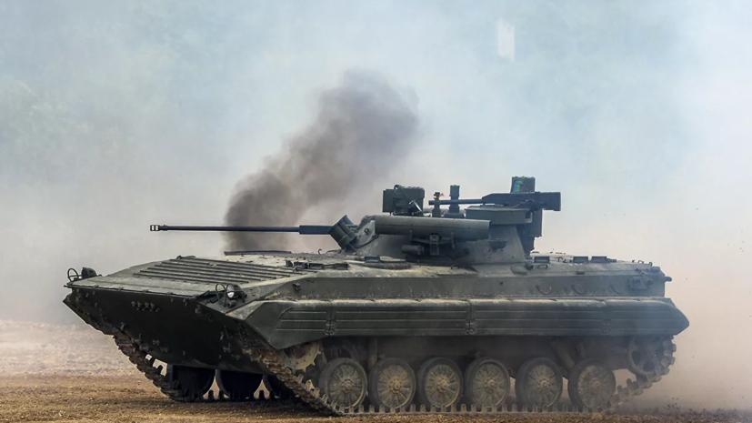 В Кузбассе прошли учения мотострелков соединения ЦВО