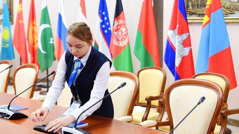 Заседание Совета глав государств — членов ШОС пройдёт в сентябре в Душанбе