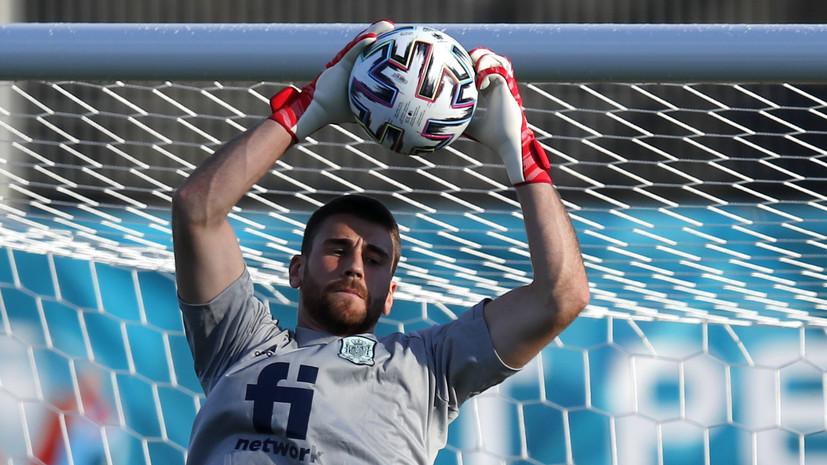 Энрике высказался об ошибке вратаря, приведшей к автоголу в матче Евро-2020 с Хорватией