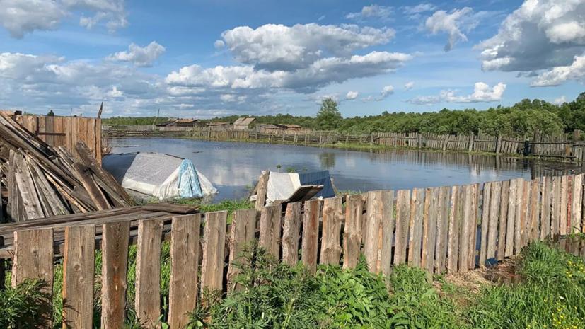 В Забайкалье оценили ущерб от паводка