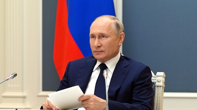 Путин внёс на ратификацию в Госдуму соглашение о пункте ВМФ в Судане