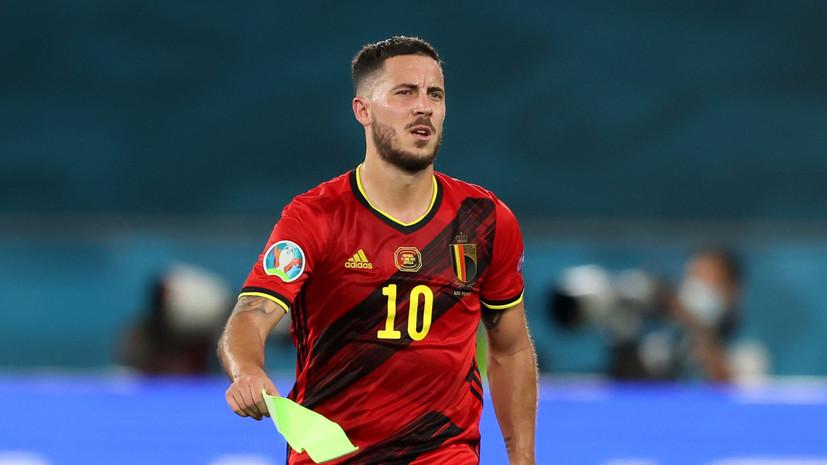 Мартинес рассказал о состоянии Де Брёйне и Азара накануне матча с Италией