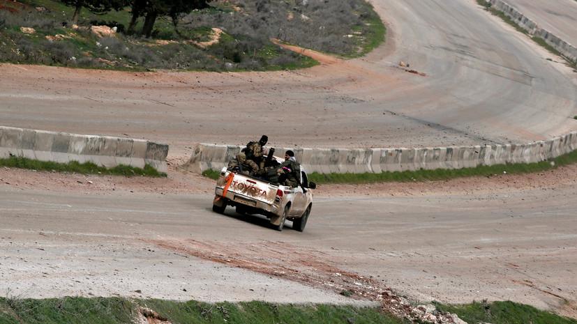 Террористы совершили 41 обстрел в идлибской зоне деэскалации в Сирии