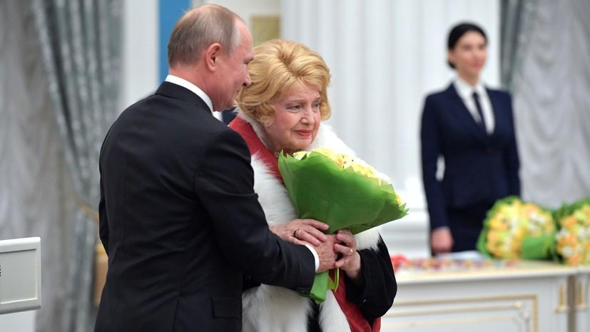Доронина написала письмо Путину с просьбой «изгнать» худрука МХАТа