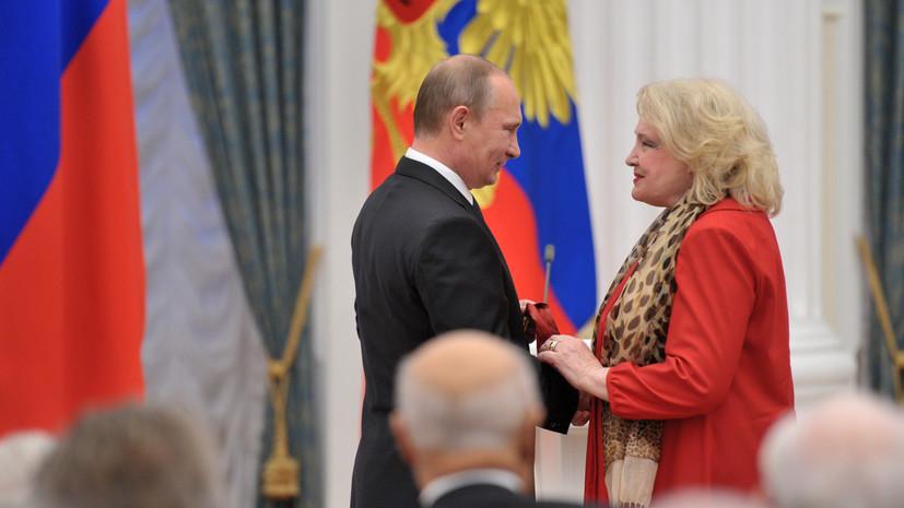 МХАТ отреагировал на письмо Дорониной Путину об увольнении худрука