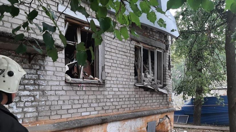 Несущие конструкции дома нарушены после взрыва газа в Нижнем Новгороде