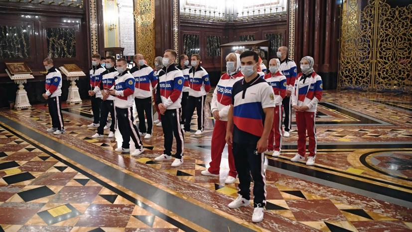 Сборная России поедет на Олимпиаду в Токио со священником