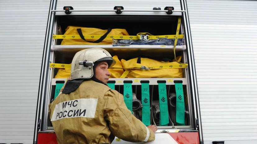 ТАСС: газовые баллончики взорвались на балконе дома в центре Москвы