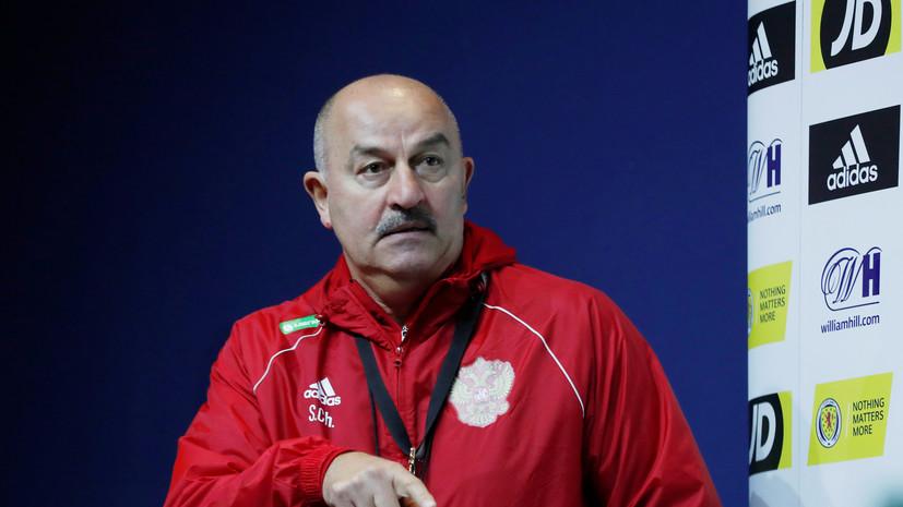 Черчесов заявил, что Мухин был одним из лучших на тренировках сборной России