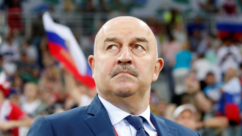 Черчесов рассказал, что Дзюба выступал перед командой, как капитан сборной Венгрии
