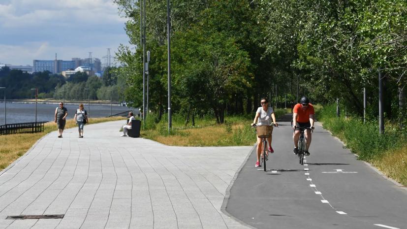 Крупнейшие парки Москвы планируют соединить велодорожками