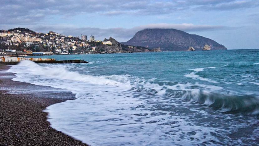 МЧС предупредило о сильных дождях и грозах в Крыму