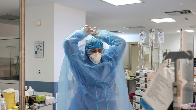 Число случаев коронавируса в Греции превысило 424 тысячи