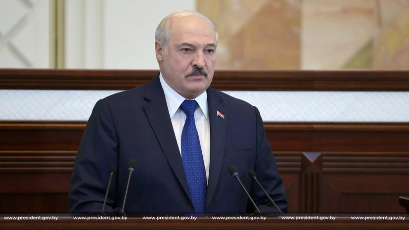Лукашенко заявил о перехвате беспилотника со взрывчаткой на границе с Литвой